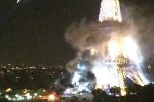 Eiffel-Tower-Fire