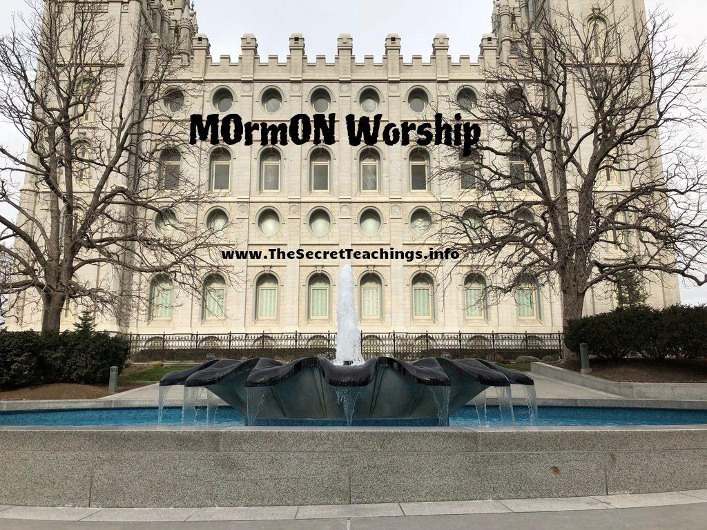 The Secret Teachings 2/11/18 – MOrmON Worship & Saturn